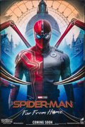 """Movie Posters:Action, Spider-Man: Far from Home (Sony, 2019). Rolled, Very Fine-. Special Poster (24"""" X 36"""") SS Advance. Action.. ..."""