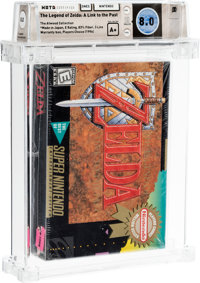The Legend of Zelda: A Link to the Past [Player's Choice] - Atwood Collection Wata 8.0 A+ Sealed SNES Nintendo 1996 USA...