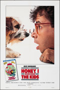 "Movie Posters:Comedy, Honey, I Shrunk the Kids & Other Lot (Buena Vista, 1989). Folded, Very Fine+. One Sheets (2) (27"" X 41"" & 27"" X 40""), & Ad S... (Total: 8 Items)"