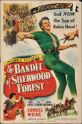 "The Bandit of Sherwood Forest & Other Lot (Columbia, 1946). Folded, Fine+. One Sheets (3) (27"" X 41""). Adv..."