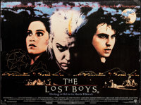 "The Lost Boys (Warner Bros., 1987). Rolled, Fine/Very Fine. British Quad (30"" X 40""). Horror"