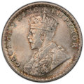 British India. George V 1/2 Rupee 1916-(c) MS65+ PCGS