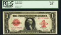 Large Size:Legal Tender Notes, Fr. 40 $1 1923 Legal Tender PCGS Very Fine 25.. ...