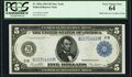 Fr. 851a $5 1914 Federal Reserve Note PCGS Very Choice New 64