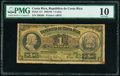Costa Rica Republica de Costa Rica 1 Colon 1.10.1903 Pick 141 PMG Very Good 10