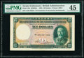 World Currency, Straits Settlements Government of Straits Settlements 10 Dollars 1.1.1935 Pick 18b KNB22e PMG Choice Extremely Fin...
