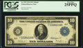 Large Size:Federal Reserve Notes, Fr. 925 $10 1914 Federal Reserve Note PCGS Very Fine 25PPQ.. ...