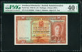 Southern Rhodesia Southern Rhodesia Currency Board 10 Shillings 15.12.1939 Pick 9a2 PMG Extremely Fine 40 EPQ