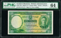 Southern Rhodesia Southern Rhodesia Currency Board 1 Pound 15.12.1939 Pick 10a PMG Choice Uncirculated 64