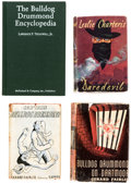 Books:Hardcover, Bulldog Drummond Hardcover Group of 10 (Various, 1929-2001).... (Total: 10 Items)