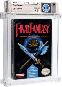 Final Fantasy Wata 7.5 A Sealed NES Nintendo 1990 USA