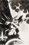 Original Comic Art:Covers, Jim Lee Detective Comics V2#27 Retailer Incentive Variant Cover Original Art (DC, 2014)....