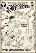 Original Comic Art:Covers, Curt Swan and Murphy Anderson Superman #246 Cover Original Art (DC, 1971)....