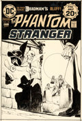 Original Comic Art:Covers, Jim Aparo Phantom Stranger #33 Cover Deadman Original Art (DC, 1974).... (Total: 2 Items)