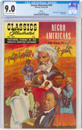 Classics Illustrated #169 Negro Americans - First Edition (Gilberton, 1969) CGC VF/NM 9.0 Off-white to white pages