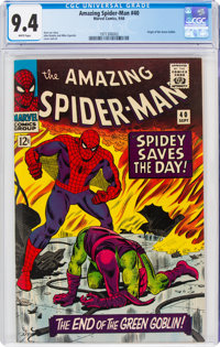 The Amazing Spider-Man #40 (Marvel, 1966) CGC NM 9.4 White pages