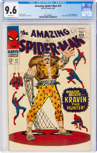 The Amazing Spider-Man #47 (Marvel, 1967) CGC NM+ 9.6 White pages