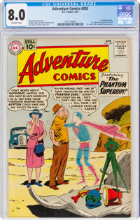 Adventure Comics #283 (DC, 1961) CGC VF 8.0 Off-white pages