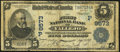 Vallejo, CA - $5 1902 Date Back Fr. 592 The First National Bank Ch. # (P)9573 Very Good-Fine