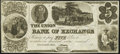 Obsoletes By State:Ohio, Cincinnati, OH- Union Bank of Exchange $5 18__ G8 Remainder Choice Crisp Uncirculated.. ...