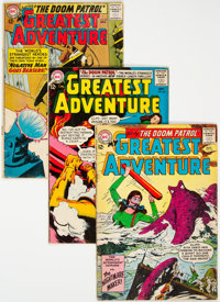My Greatest Adventure/Doom Patrol Group of 7 (DC, 1963-67) Condition: Average GD/VG.... (Total: 7)