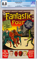 Silver Age (1956-1969):Superhero, Fantastic Four #11 (Marvel, 1963) CGC VF 8.0 Off-white pages....