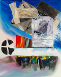 Paul Jenkins (1923-2012) Phenomena Seven Leagues Above the Sea, 1989 Mixed media and collage on canv