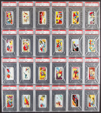 """1968 Primrose Confectionary """"Superman"""" Thick Card PSA Graded Collection (24)"""