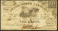 Obsoletes By State:North Carolina, Raleigh, NC- State of North Carolina 10¢ Sep. 1, 1862 Cr. 114 Crisp Uncirculated.. ...