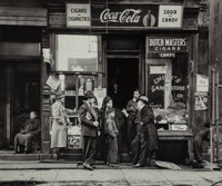 Walter Rosenblum (American, 1919-2000) Chick's Candy Store, Pitt Street, New York, 1938 Gelatin silver, printed later
