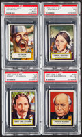Non-Sport Cards:General, 1952 Topps Look 'N See PSA Graded Quartet (4)....