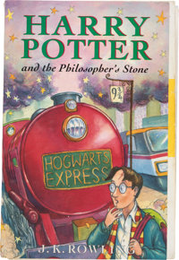 J. K. Rowling. Harry Potter and the Philosopher's Stone. [London]: Bloomsbury, [1997]. First ed
