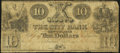 Obsoletes By State:Louisiana, New Orleans, LA- City Bank of New Orleans $10 circa 1840s Very Good.. ...
