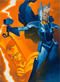 Original Comic Art:Paintings, Chris Steven Storm of Asgard Specialty Painting Original Art (2012)....