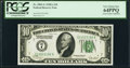 Fr. 2001-G $10 1928A Federal Reserve Note. PCGS Very Choice New 64PPQ