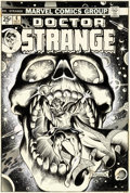 Original Comic Art:Covers, Frank Brunner Doctor Strange #4 Cover Original Art (Marvel, 1974)....
