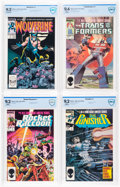 Modern Age (1980-Present):Miscellaneous, Marvel Bronze and Modern Age Comics CBCS-Graded Group of 5 (Marvel, 1976-86).... (Total: 5 Comic Books)