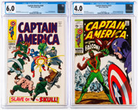 Captain America #104 and 117 Group (Marvel, 1968-69).... (Total: 2 Comic Books)