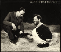 """Tod Browning and Lon Chaney in West of Zanzibar (MGM, 1928). Very Fine/Near Mint. Publicity Photo (9"""" X 7.75"""")..."""