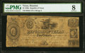 Houston, TX- Republic of Texas $2 June 1, 1837 Cr. H24 PMG Very Good 8