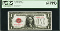 Small Size:Legal Tender Notes, Fr. 1500 $1 1928 Legal Tender Note. PCGS Very Choice New 64PPQ.. ...