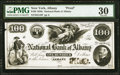 Albany, NY- National Bank of Albany $100 18__ as G18 Proof PMG Very Fine 30