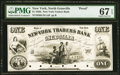 Obsoletes By State:New York, North Granville, NY- New-York Traders Bank $1 Aug. 26, 1851 Proof PMG Superb Gem Unc 67 EPQ.. ...