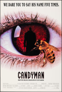 """Candyman & Other Lot (Tri-Star, 1992). Rolled, Overall: Very Fine+. One Sheets (2) (Approx. 27"""" X 40"""") SS..."""