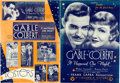 "Movie Posters:Academy Award Winners, It Happened One Night (Columbia, 1934). Folded, Fine. Cut Pressbook (16 Pages, 15"" X 21"").. ..."