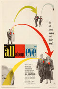 "Movie Posters:Academy Award Winners, All About Eve (20th Century Fox, 1950). Fine on Linen. One Sheet (27"" X 41"").. ..."