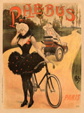"Movie Posters:Miscellaneous, Phebus Vehicles (c. 1898). Fine- on Linen. French Advertising Poster (43.5"" X 58.25"") Jean ""Pal"" de Paleologue Artwork.. ..."
