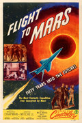 Movie Posters:Science Fiction, Flight to Mars (Monogram, 1951). Fine/Very Fine on Linen.
