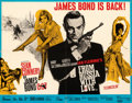 """Movie Posters:James Bond, From Russia with Love (United Artists, 1964). Folded, Fine/Very Fine. British Half Sheet (22"""" X 28"""") Renato Fratini and Eric..."""