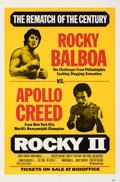 """Movie Posters:Sports, Rocky II (United Artists, 1979). Folded, Very Fine+. One Sheet (27"""" X 41"""") Fight Style.. ..."""